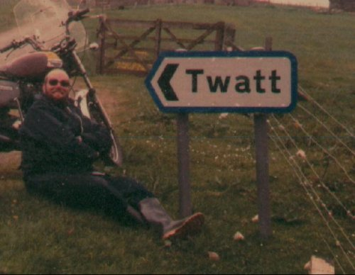 On the Shetland Isles in 1986.  Says it all, really.